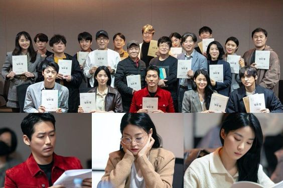 Watch: Namgoong Min, AOA's Seolhyun, Lee Chung Ah, And More Hold Script Reading For New tvN Drama