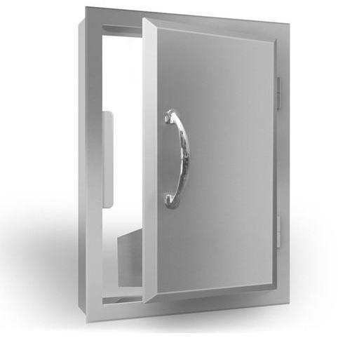 Rcs Agape Series Large Reversible Single Access Door Outdoor Kitchen Island Vertical Doors Storage Spaces