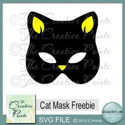Cat Mask Freebie SVG