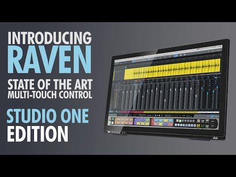 Steven Slate Audio Raven Mti2 Multi Touch Production Console Multi Touch Touch Control Slate Audio