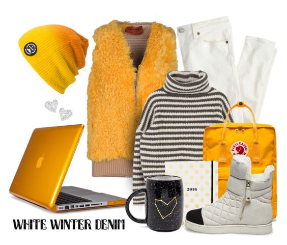 """whinter denim"" by sandevapetq ❤ liked on Polyvore featuring J.Crew, Missoni, Fjällräven, Kate Spade, Spacecraft, Speck, Vivienne Westwood and Steve Madden"