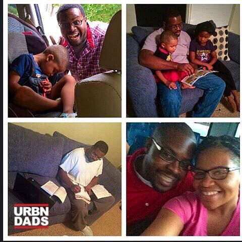 #Repost @faithfatburning  Man Crush Monday alert...my husband.... He is my soulmate and a great dad. #mancrushmonday #mcm #hubby #husband #bearedman #fatherhood #soulmate #collegestudent #blackdads #dads #blackfathers #urbndads #bmwk