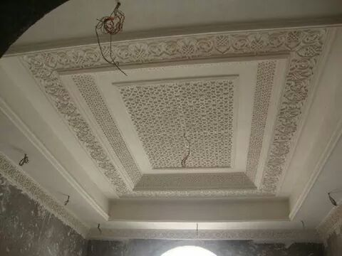 جبس عربي مغربي Plafond Design House Interior Decor Window Decor
