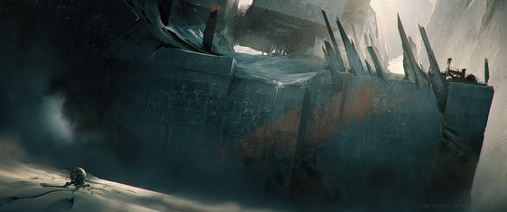 ArtStation - Cubic mountains, Jan Urschel