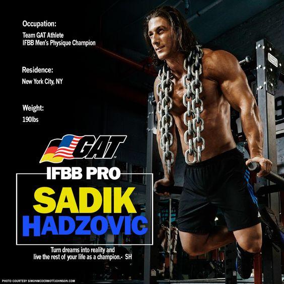 GAT Athlete Sadik Hadzovic