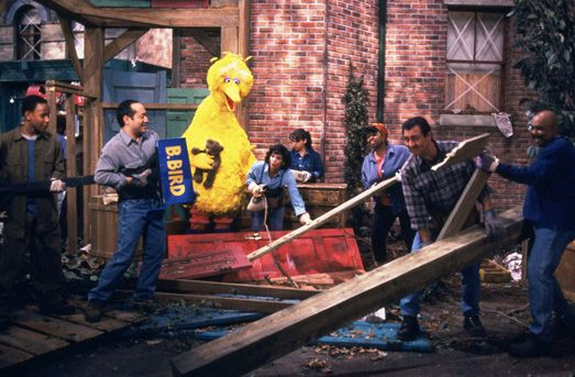 This Friday, we're airing a very special episode of Sesame Street to help support and reassure in the wake of Hurricane Sandy.