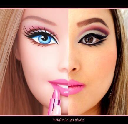 maquiagens de barbie - Pesquisa Google