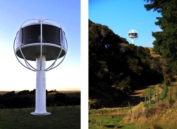 Insane skysphere is a solar powered man cave with voice activated electronics men cave solar and solar power