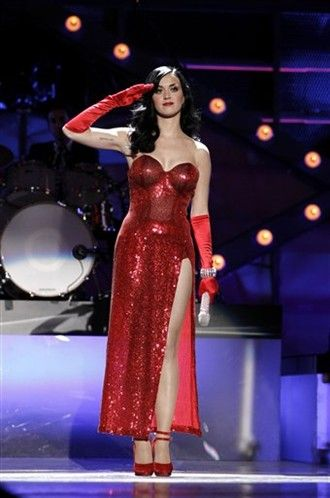 AP File Photo // Katy Perry wants Todd Thomas for tour costumes- to be whipped off?