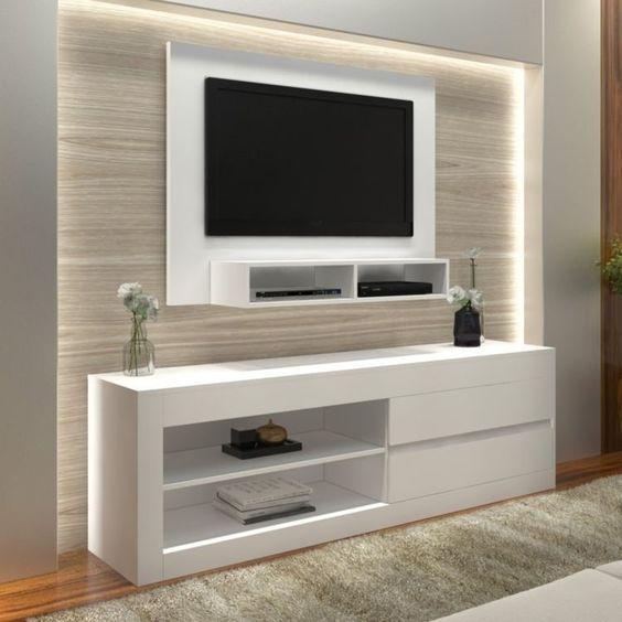 Tablaroca Para Diseno De Interiores Y Muebles 2019 2020 Muebles De Tablaroca Muebles Flotantes Para Tv Plafon Para Sala