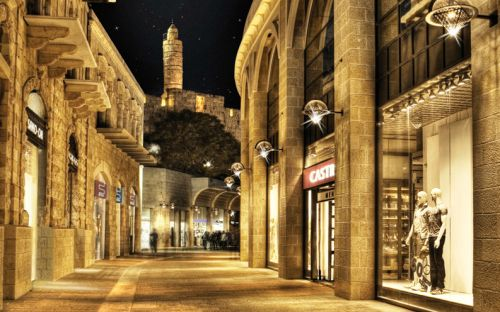 Alrov Mamilla Avenue in Jerusalem. I'd never go to the mall again...