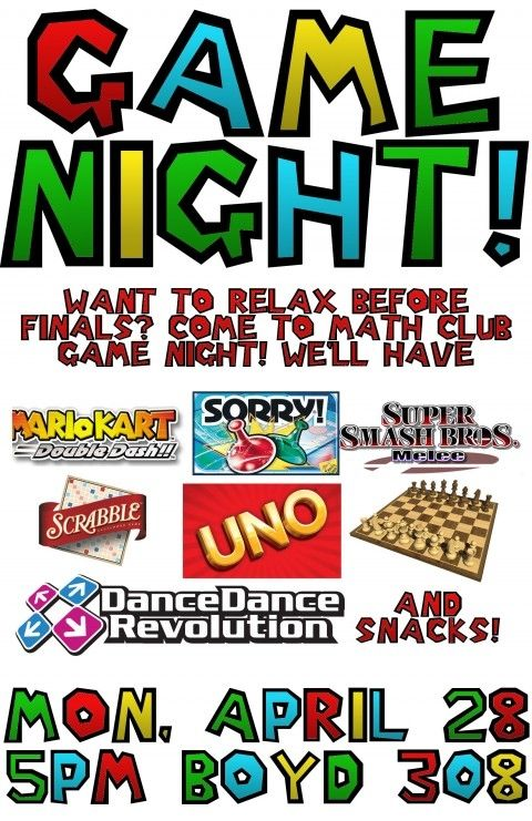 Game Night Flyer Templates Download Game Night Flyer Family Night