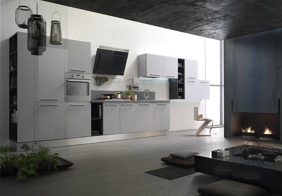 Fantasia Lucido, Cucina Contemporary, Forma 2000 | Forma 2000 ...