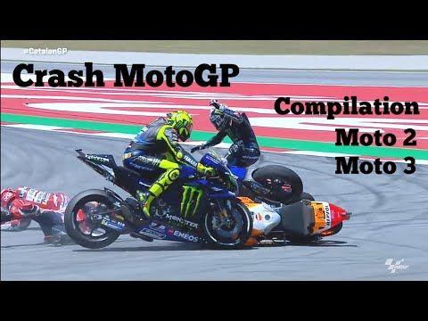 Crash Motogp And Qualification Crash Compilation Moto 2 Moto 3 Moments 2019 Youtube In 2020 Motogp Yamaha Motorcycles Lamborghini Gallardo