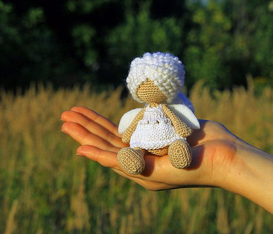 angel baby shower geschenk amigurumi engel angel toy bereit schiff amigurumi pattern. Black Bedroom Furniture Sets. Home Design Ideas