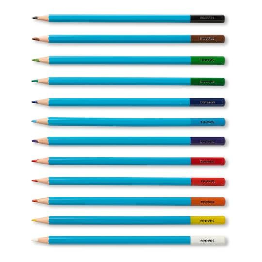 Reeves Watercolour Pencils Set Of 12 Watercolor Pencils