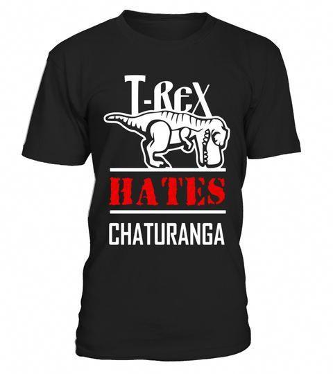 Yoga Funny Shirt T Rex Hates Chaturanga Men Women Kids Limited Edition Funny Yoga Shirt Mens Yoga Shirts Yoga Shirts