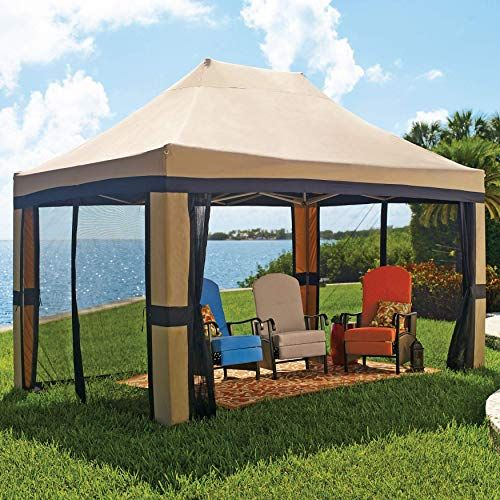 Buy Brylanehome Oversized 10 X 15 Instant Pop Up Gazebo Screen