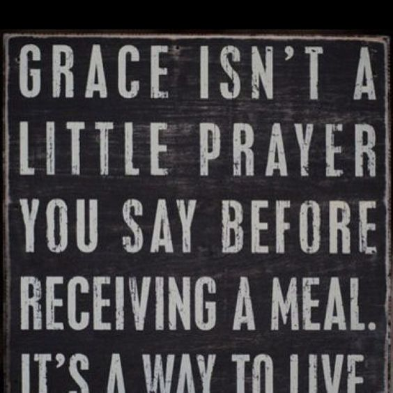 Grace indeed