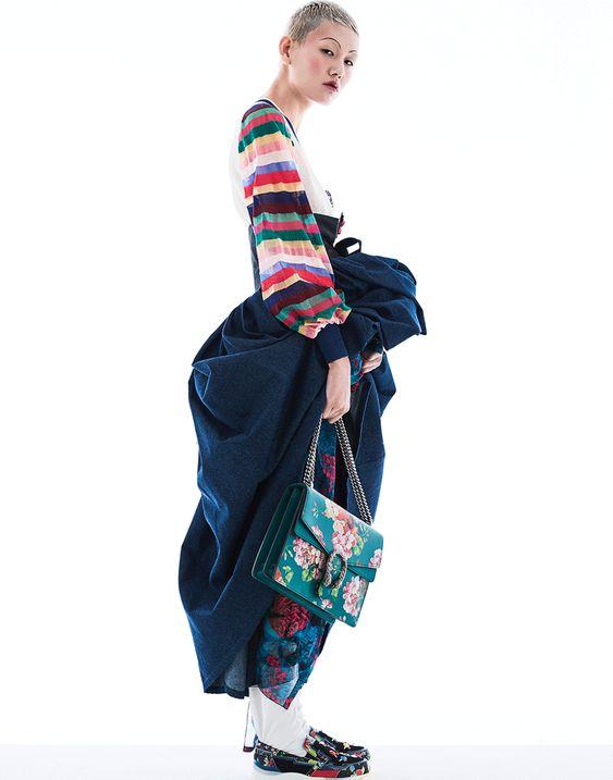 Lee Ji by Kim Seok Jun for Vogue Korea Feb 2016