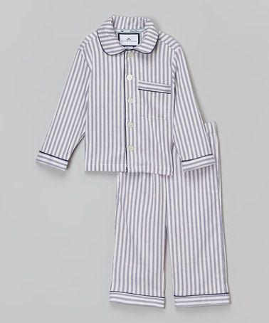 Love these gorgeous cotton boys pajamas from Petite Plume. www ...