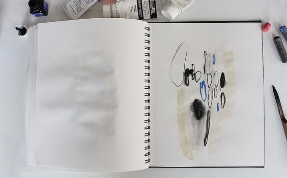 Today I made 76 drawings.  © Julie Van den Meutter   Flickr