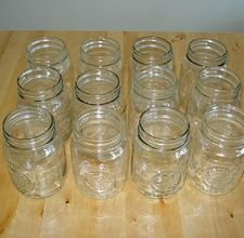 How to sterilize canning jars in the oven