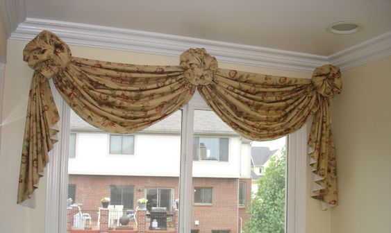 Swag Valances And Window Swags On Pinterest