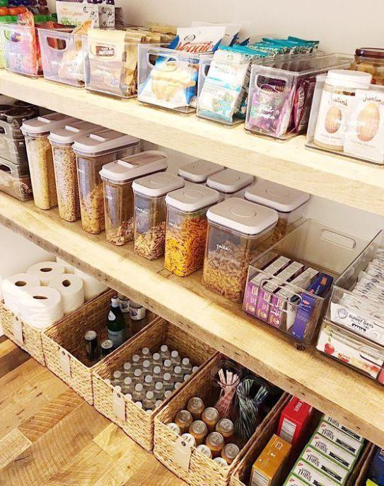 13 Genius Pantry Organization Ideas Kitchen Organization Pantry Pantry Organisation Pantry Organization