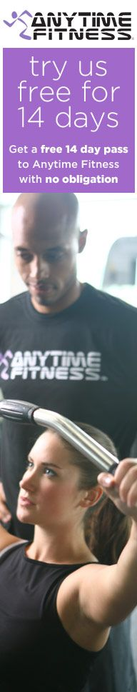 Get a free 14-day pass to Anytime Fitness. #fitfluential