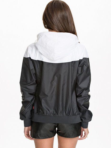 nike windrunner nike black white jackets and coats. Black Bedroom Furniture Sets. Home Design Ideas