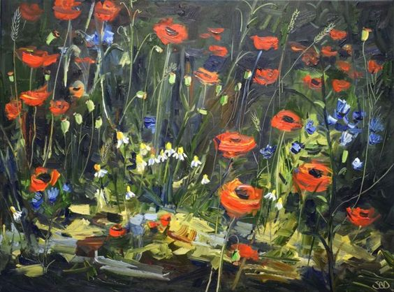 Buy Poppy time, Oil painting by Sonja Brussen on Artfinder. Discover thousands of other original paintings, prints, sculptures and photography…