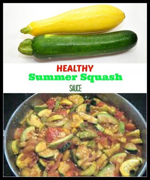 healthy squash sauce
