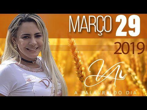 29mar2019 A Palavra Do Dia Bispa Virginia Arruda Youtube