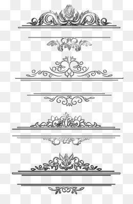 Black Title Box Vine Pattern Border Vector Border Png Material Title Box Vine Pattern Border V Page Borders Design Graphic Design Background Templates Word Art