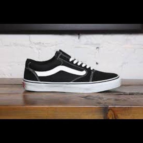 Vans Sk8 low pro Black low vans barely worn Vans Shoes Sneakers