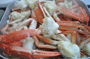 Crabs – Garlic Butter Baked Crab Legs