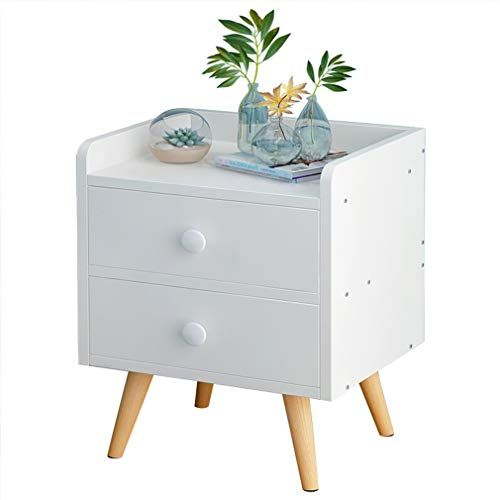 Bedside Table Cabinet White Drawer Wooden Night Stand Bedroom Chest Storage With 4 Solid Bedroom Storage Cabinets Wooden Night Stands Bedrooms Bedside Cabinet