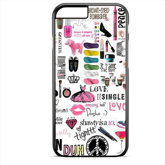 Girly Things TATUM-4704 Apple Phonecase Cover For Iphone SE Case