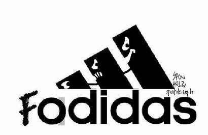 Camisa da Adidas com conotação sexual sobre o Brasil