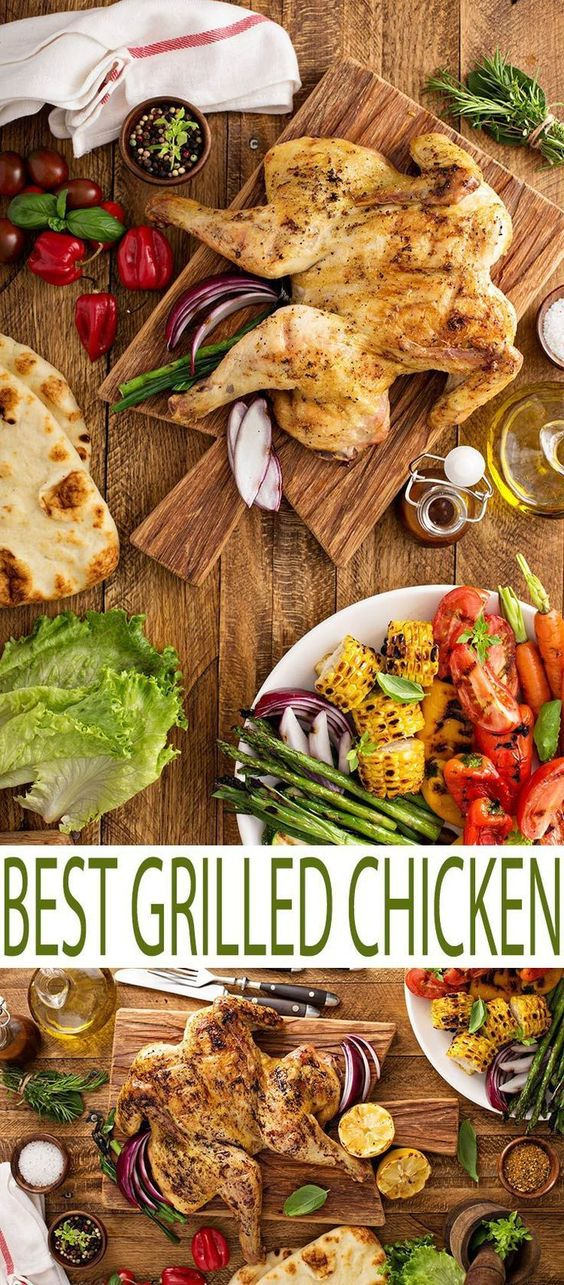 Grilled chicken recipes, Best grilled chicken recipe and Grilled ...