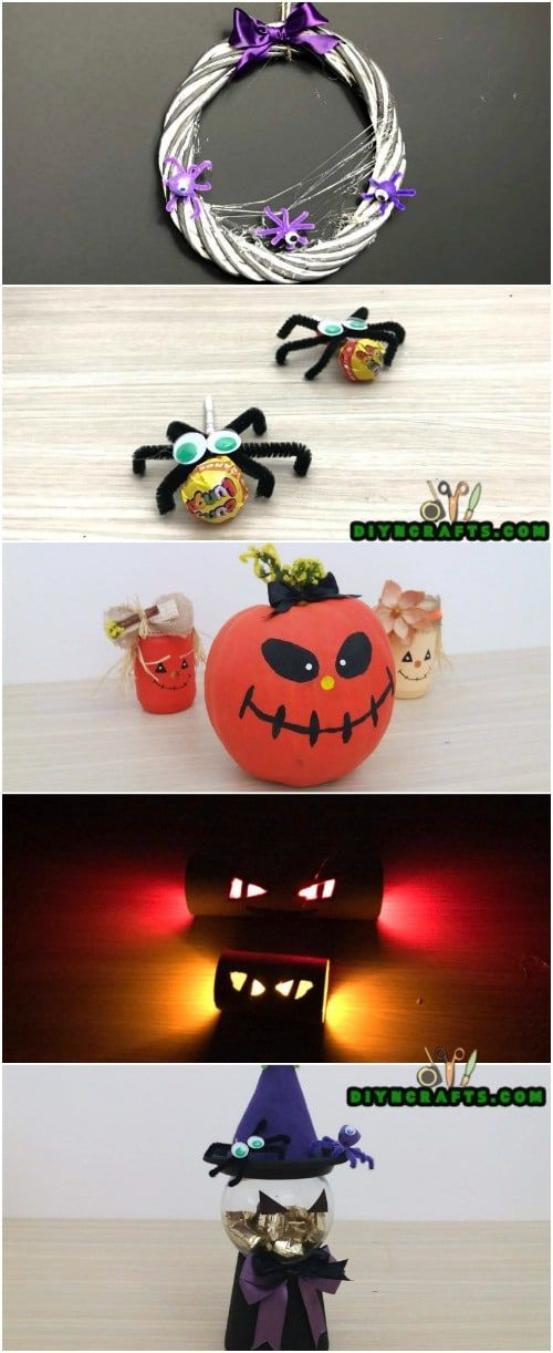 How To Make 5 Spooky Diy Halloween Crafts In Under 5 Minutes Easy And Cute Halloween Decorat In 2020 Halloween Diy Crafts Halloween Crafts Cute Halloween Decorations