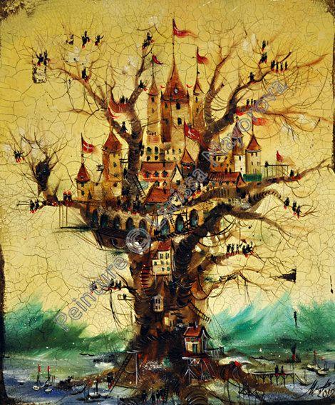Château des bois by LarissaMayorova on Etsy, €500.00