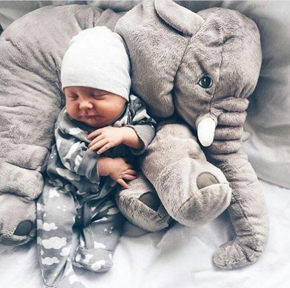 elephant pillow for baby newborn