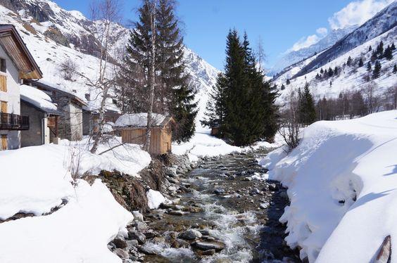 Une semaine de ski à Champagny-en-Vanoise – #2 Ski de fond à Champagny-le-Haut   Lauralou