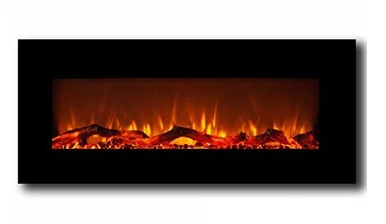 1 Moda Flame Houston 50 Inch Electric Wall Mounted Fireplace Black Cool Walls Wall Mount Electric Fireplace Wall Mounted Fireplace