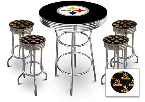 Fine Pittsburgh Steelers Pub Tables Bar Table Sets Table Home Uwap Interior Chair Design Uwaporg