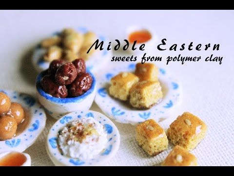how to: miniature Middle Eastern sweets