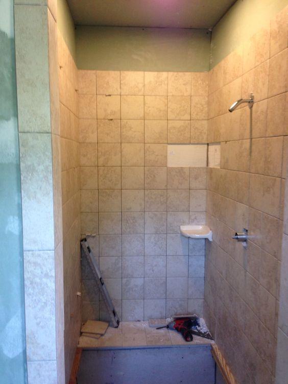 Ceramic tile shower 6x6 39 s tile projects pinterest for 6x6 bathroom layout