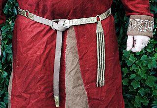 viking handcraft: Lamellengürtel nach gotländischem Vorbild
